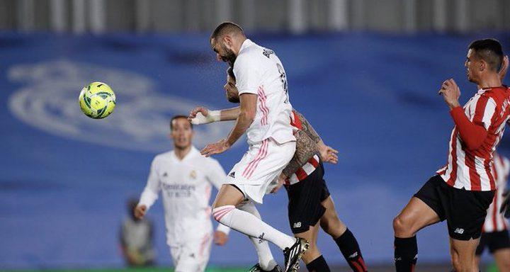 بنزيما يقود ريال مدريد للفوز على بيلباو