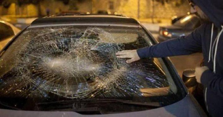 جنين:مستوطنون يرشقون مركبات المواطنين بالحجارة