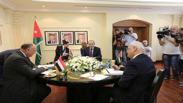 اجتماع فلسطيني أردني مصري اليوم لمناقشة القضايا الإقليمية