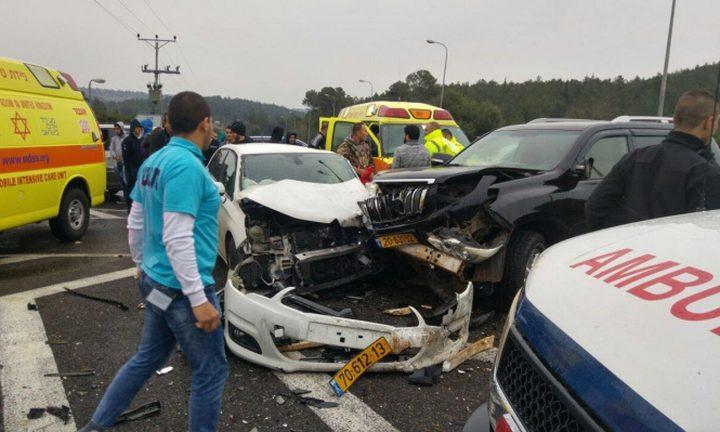 إصابة خطيرة اثر حادث سير قرب مجد الكروم
