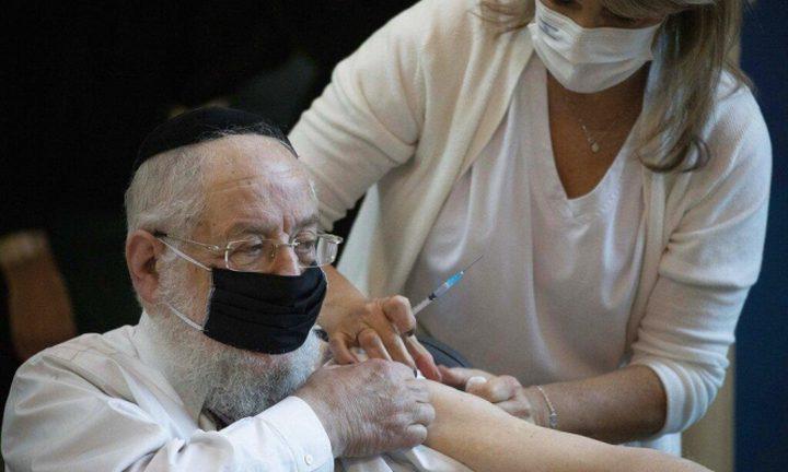 صحة الاحتلال تبدأ حملة التطعيمات بلقاح فيروس كورونا