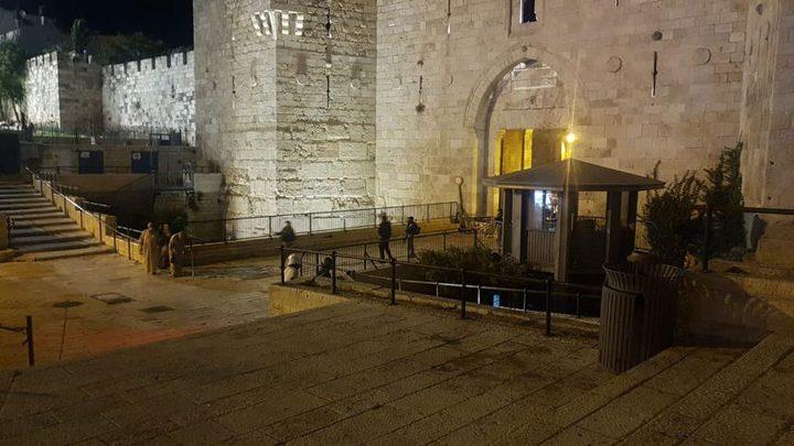 شهيد برصاص الاحتلال قرب باب حطة في البلدة القديمة بالقدس