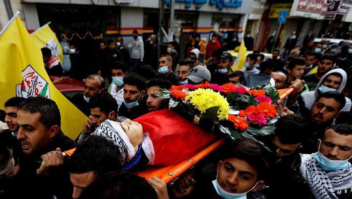 مسيرة في قباطية تنديدا بإعدام الشهيىد كميل واحتجاز جثمانه
