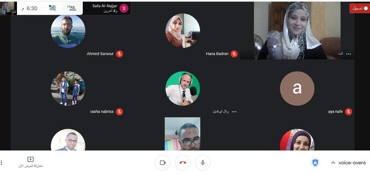 """تعليم غزة تختتم دورة نوعية في """"التعليق الصوتي"""" للمعلمين"""