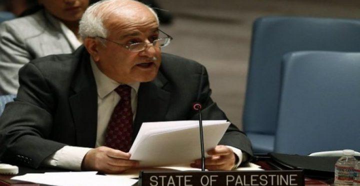 """السفير منصور: إدارة ترمب من عطلت تنفيذ قرار مجلس الامن """"2334"""""""