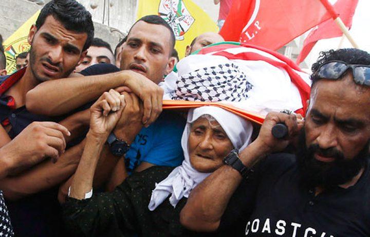 جهاز المخابرات في جنين يكرم عائلة الشهيد ياسر حمدوني
