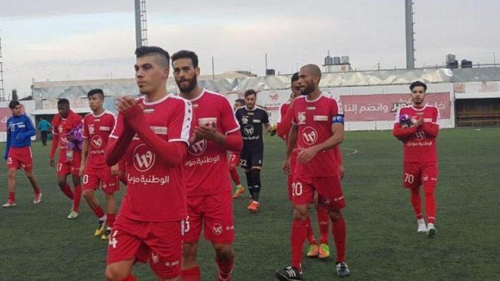 مركز طولكرم يحقق الفوز على هلال أريحا في دوري الدرجة الأولى