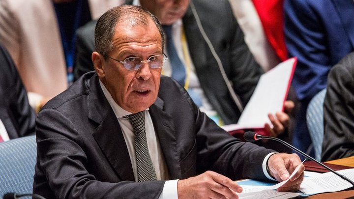 لافروف يعلن أن الرد على العقوبات الأمريكية ضد موسكو يأتي لاحقا