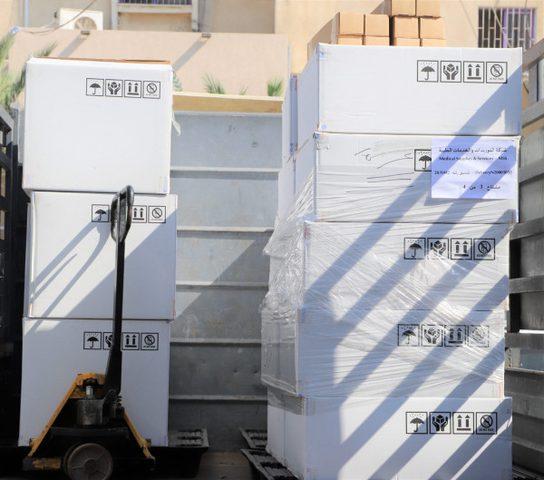 """""""بكدار"""" يسلم الدفعة 6 من الأجهزة الطبية للمستشفى الأوروبي في غزة"""