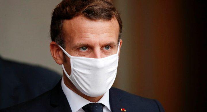 أعراض الإصابة بكورونا تختفي من الرئيس الفرنسي ماكرون
