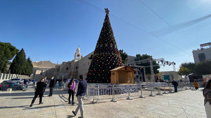 فلتس: الحزن يخيم على أجواء الميلاد في بيت لحم