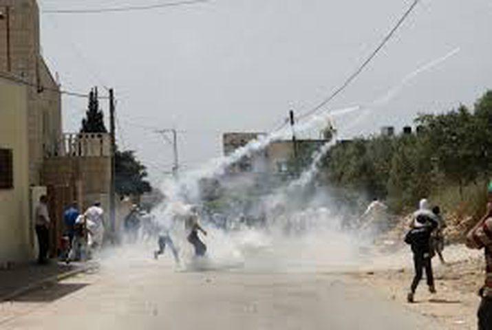 إصاباتبالاختناق خلال قمع الاحتلال مسيرة كفر قدوم
