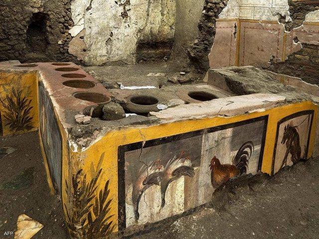 إيطاليا.. اكتشاف آثار لأقدم مطعم في المدينة البائدة