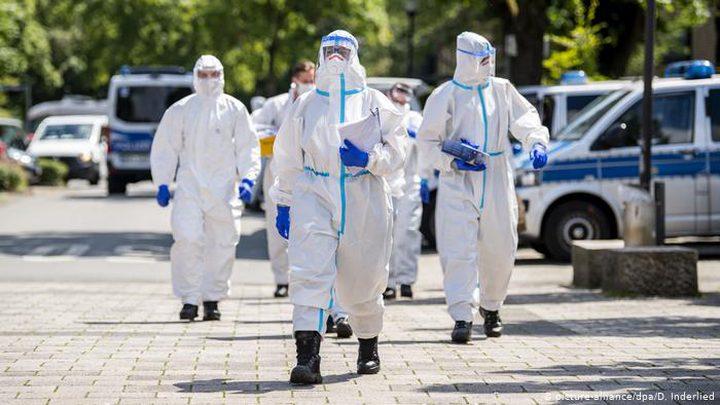 ألمانيا تسجل نحو 14 ألف إصابة جديدة بكورونا