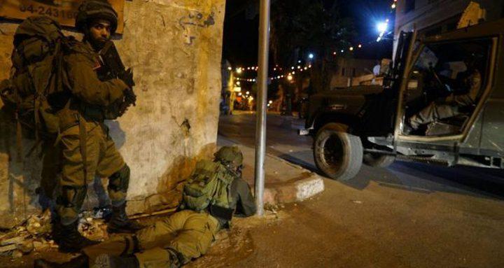 اندلاع مواجهات مع قوات الاحتلال في بلدة يعبد