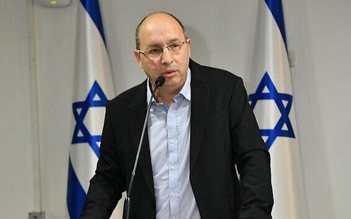 """وزير إسرائيلي ينشق عن حزب """"أزرق-أبيض"""""""