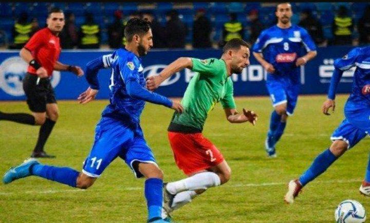 الوحدات على بعد نقطة من لقب دوري المحترفين الأردني