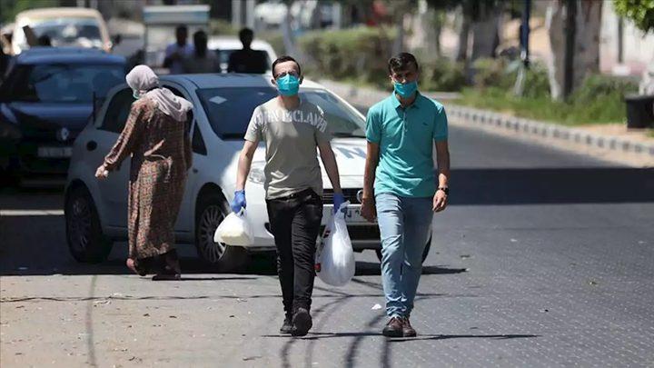 6 حالات وفاة و 542 اصابة جديدة بكورونا في غزة