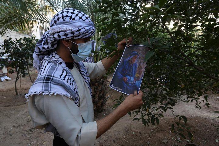 فعالية للتراث الفلسطيني في مخيم النصيرات وسط قطاع غزة