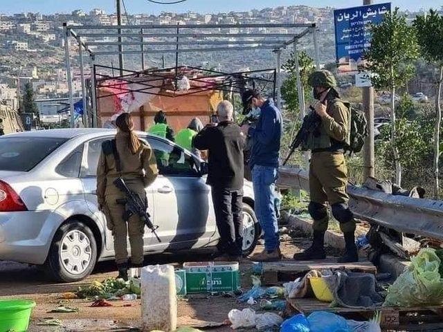 الاحتلال يهدم بسطات خضار في برطعة جنوب غرب جنين