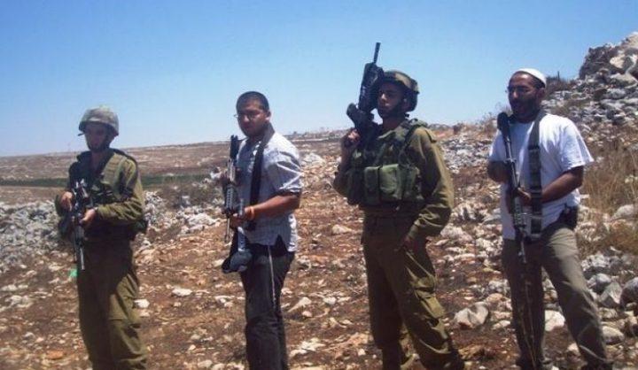 مستوطنون يعتدون على مواطن بمنطقة عرب الرشايدة في أريحا
