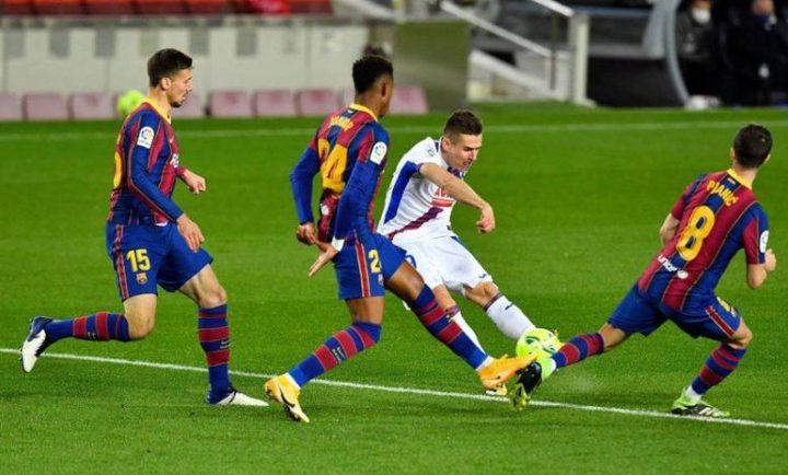 بغياب ميسي برشلونة يتعثر أمام ويكتفي بالتعادل