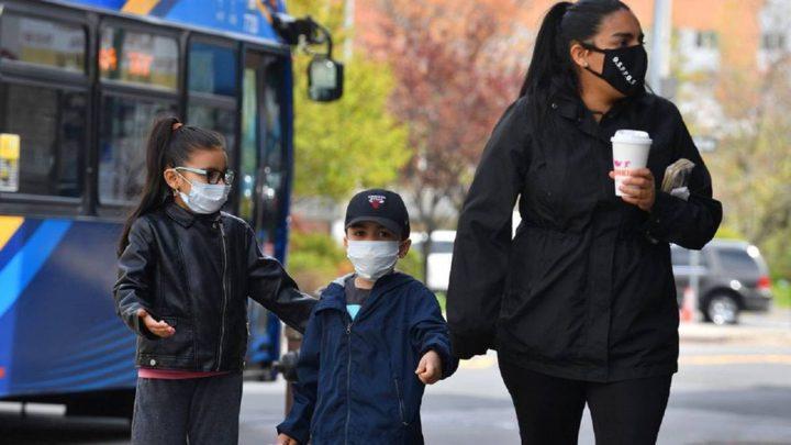 إصابة أكثر من 2 مليون طفل في الولايات المتحدة بفايروس كورونا
