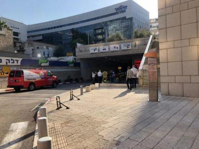 حيفا: تسرُّب وقود وإخلاء مواقف سيارات