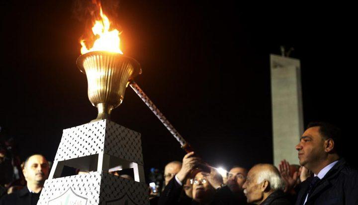 الأحمد: إيقاد شعلة الانطلاقة اليوم عند ضريح الشهيد ياسر عرفات