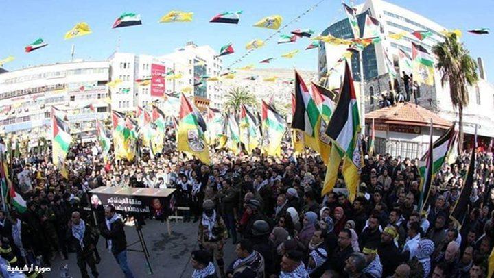 فعاليات شعبية لمناسبة انطلاقة الثورة بكافة مناطق التماس غدا