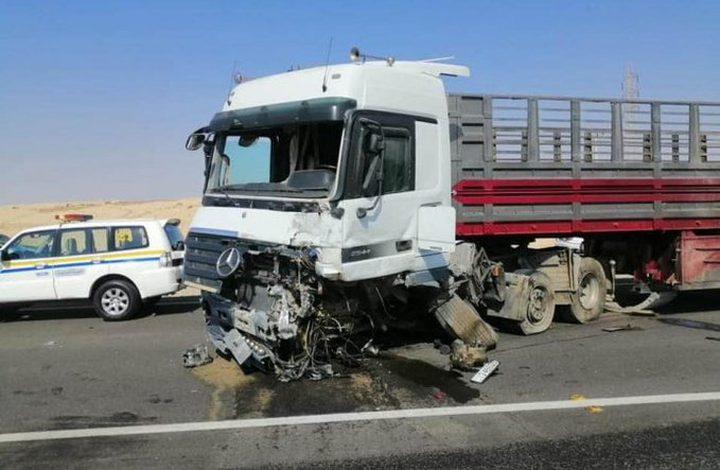 مصرع 6 أشخاص في حادث سير مروع بالأردن