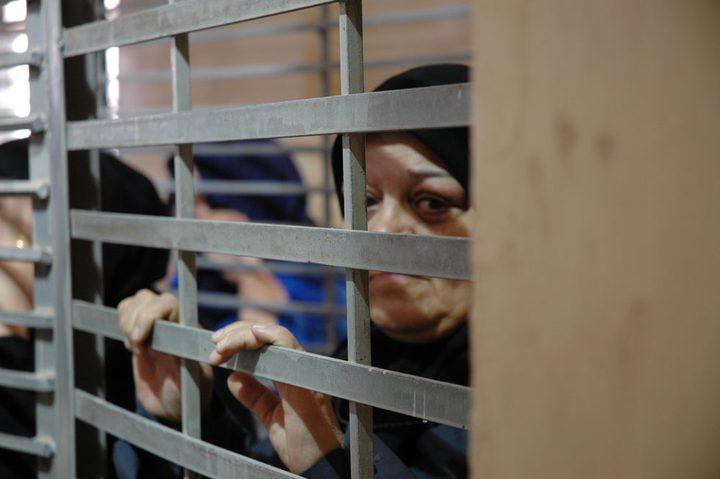 الاحتلال يحتجز 36 أسيرة في معتقل الدامون بظروف قاسية
