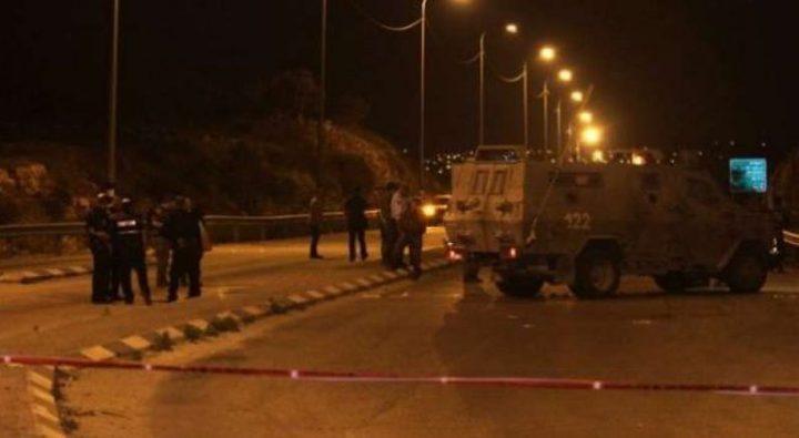 اغلاق حاجز حوارة العسكري وتجمع للمستوطنين جنوب نابلس