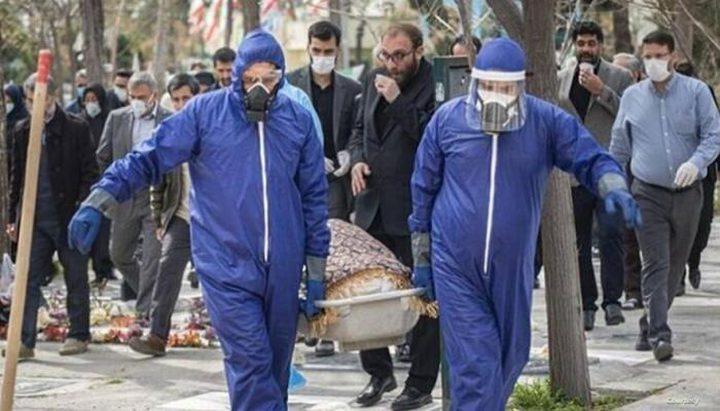 أعداد الوفيات اليومية بكورونا تنخفض إلى الخمس في إيران