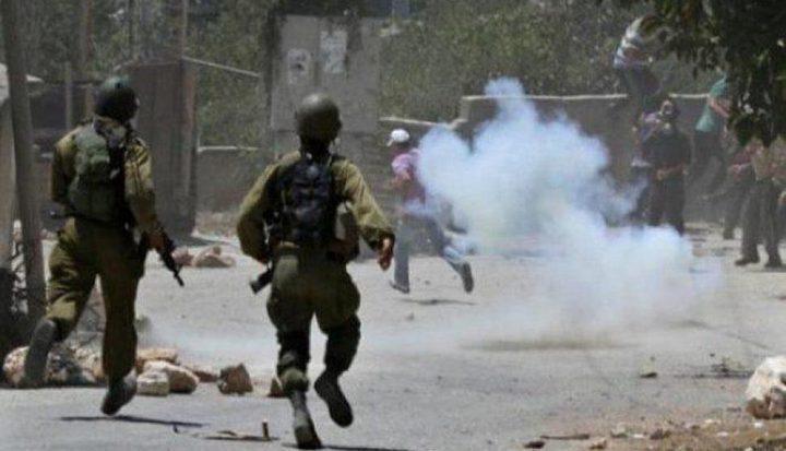 اصابات خلال مواجهات مع الاحتلال جنوب أريحا