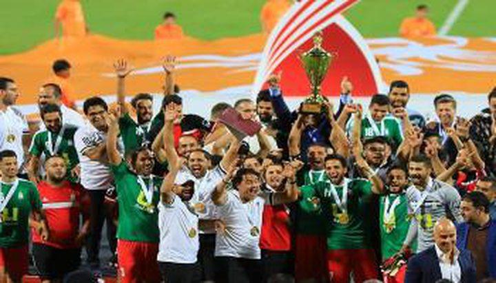 رسميا.. الوحدات يتوج بلقب دوري المحترفين الأردني