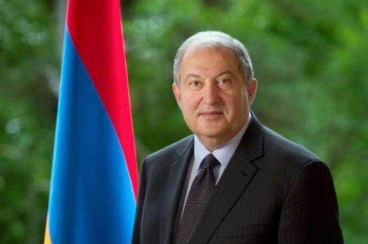 إصابة الرئيس الأرميني بفايروس كورونا
