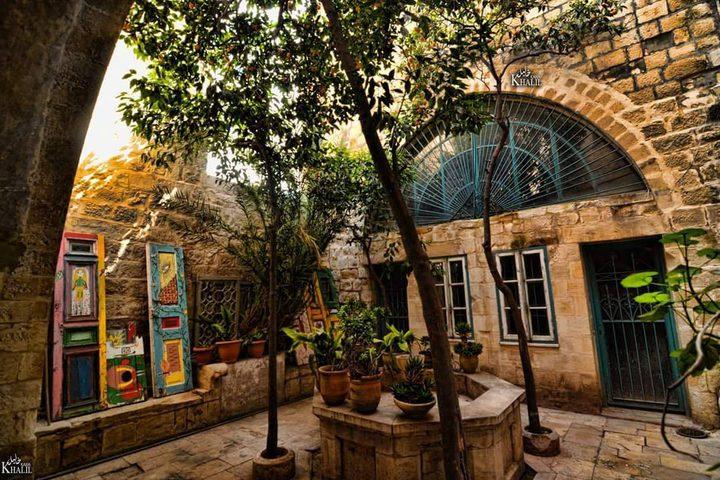 أزقه وحارات البلدة القديمة في نابلس  تصوير : خليل كوع
