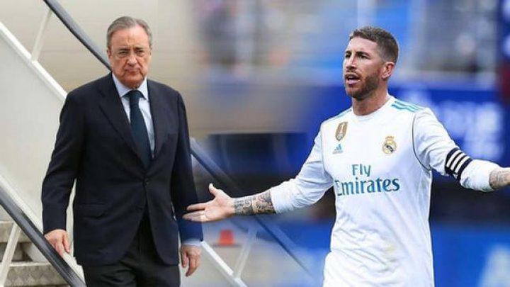 تسريب حوار راموس مع رئيس ريال مدريد بعد مباراة سلتا فيغو