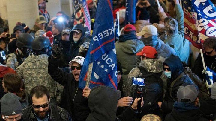 مسؤولون أمريكيون يدينون اقتحام الكونغرس ويصفونه بمحاولة انقلاب