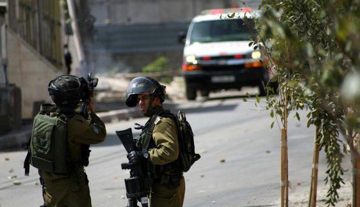 إصابة شاب برصاص الاحتلال قرب مدخل أريحا الشمالي