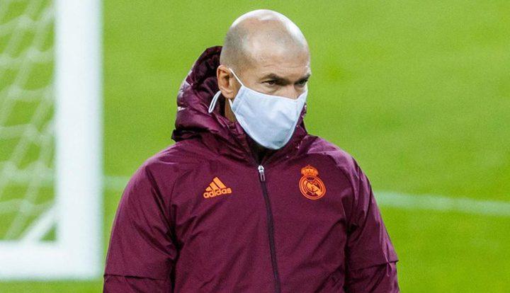 ريال مدريد يكشف  موقف زيدان من لقاء أوساسونا