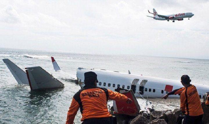 تحديد موقع سقوط الطائرة الاندونيسية المنكوبة في بحر جاوة