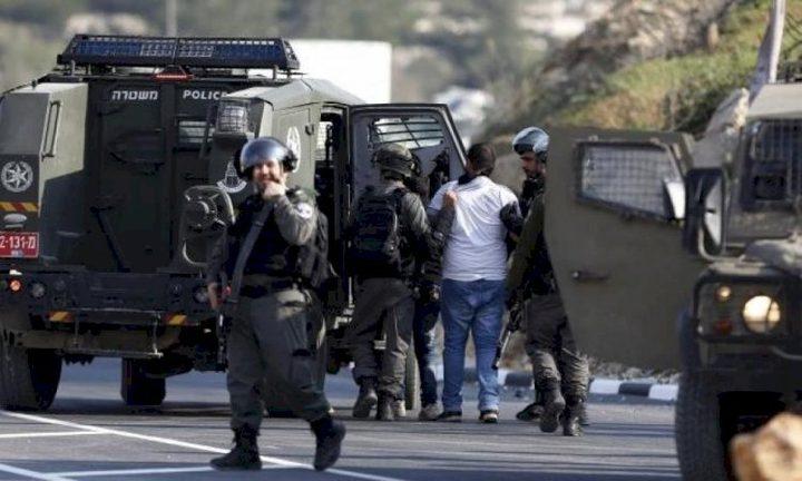 اعتقالات ومداهمات في الضفة