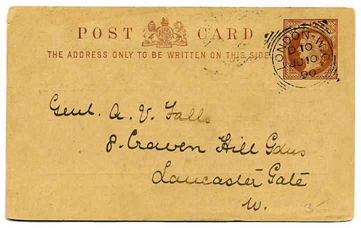 بريطاني يتلقى بطاقة بريدية بعد 66 عاما من الانتظار