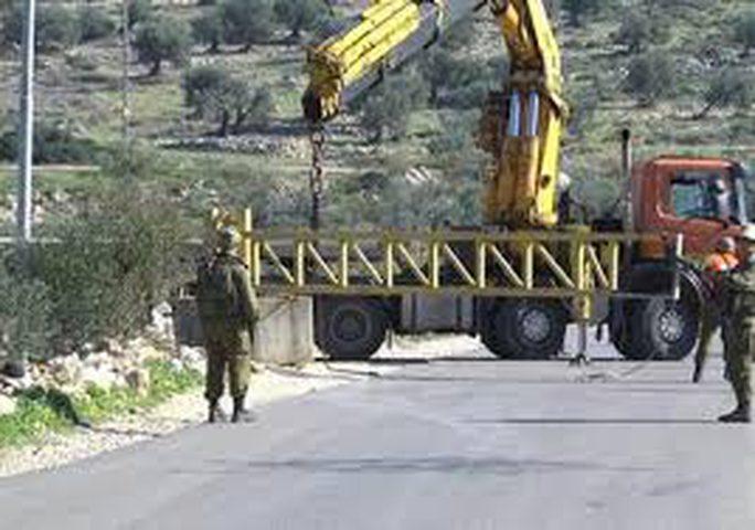 لليوم الخامس...الاحتلال يواصل إغلاق مدخلي قرية المغير