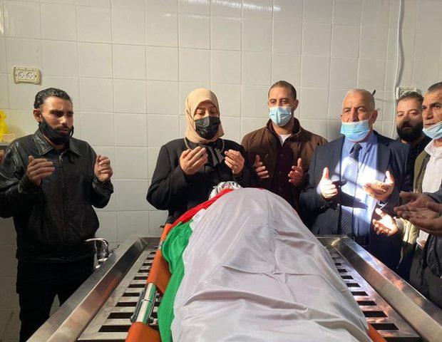 تشييع جثمان الشهيد محمد صلاح الدين في بلدة حزما