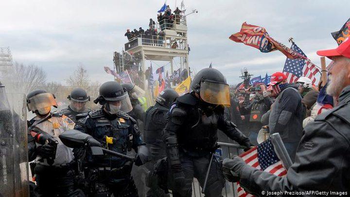 شرطة الكونغرس تحقق في تصرفات بعض رجالها بعد أعمال الشعب الأخيرة