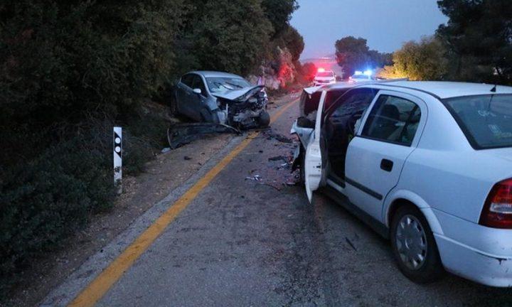 سخنين: إصابة حرجة لشاب في حادث سير