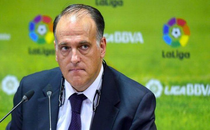 تصريحات ريال مدريد تزعج تيباس